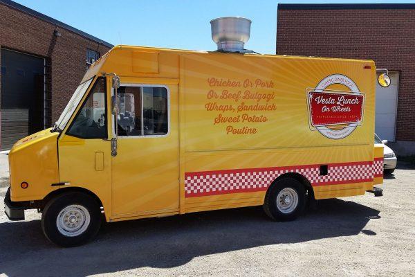 Food Truck Wraps Graphics